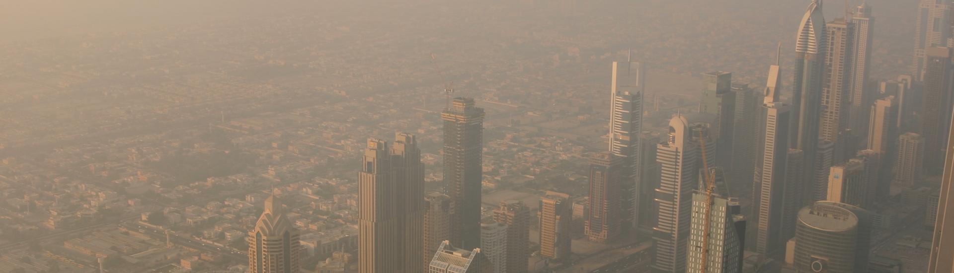 Image of Dubai from the Burj Khalifa